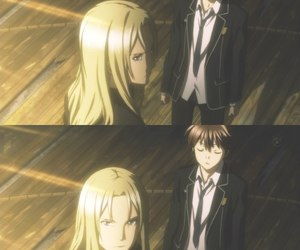 anime, anime collage, and guilty crown image