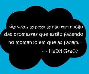hazel grace, a culpa é das estrelas, and frases image