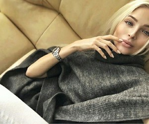 blonde, hair, and russia image