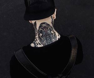 Tattoos and black color image