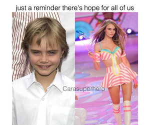 hope, funny, and cara delevingne image