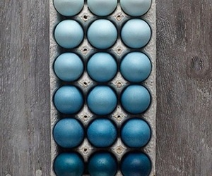blue, egg, and easter day image