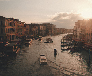 travel, venice, and wanderlust image