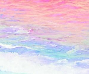 aesthetic, pastel, and unicorn image