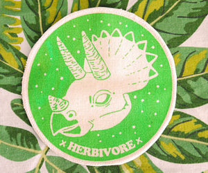 dinosaur, herbivore, and patches image