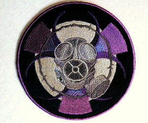 gas mask and patches image