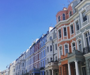 blue, colourful, and Houses image