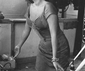 cigarette, sixties, and sofia loren image