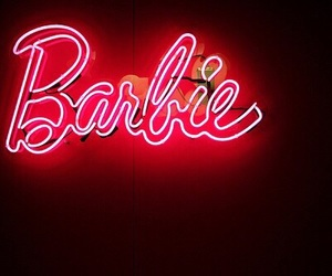 barbie, light, and neon image