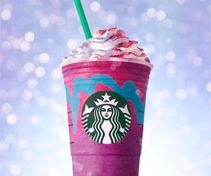 coffee, starbucks, and unicorn image