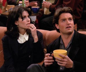friends, 90s, and chandler image