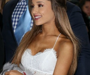 ariana grande, ariana, and white image