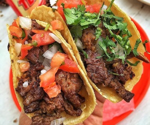 food, tacos, and food porn image