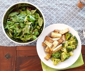 fit, healthy, and lunch image