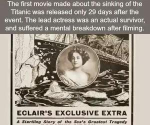 film, titanic, and movie image