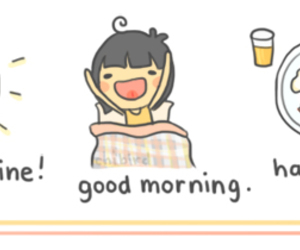 breakfast, day, and happy image