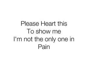 cut, heart, and pain image