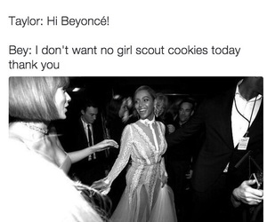 beyoncé, funny, and twitter image