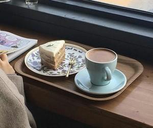 breakfast, sweet, and cake image