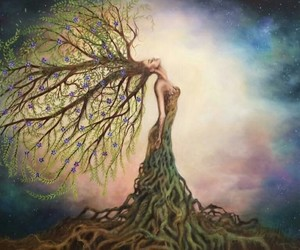 mother nature and tree image