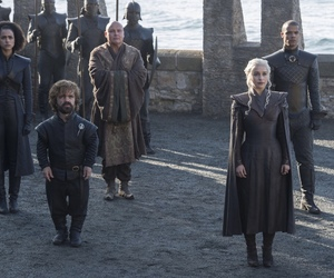 game of thrones, emilia clarke, and tyrion lannister image