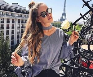 fashion, paris, and travel image