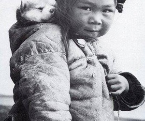 black and white, inuit, and travel image