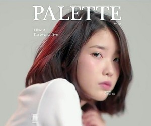 iu, aesthetic, and palette image