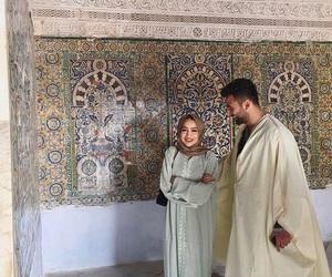 couple, goal, and hijab image