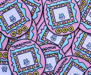 patches and tamagotchi image