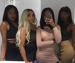 girl, squad, and goals image