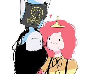 adventure time, marceline, and bubbline image