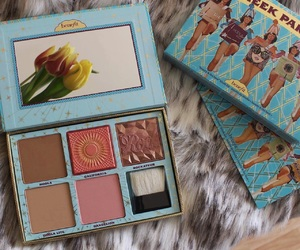 beauty, girl, and benefit image