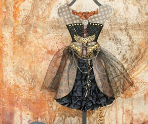 beauty, clothes, and steampunk image