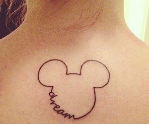 tattoo, Dream, and disney image