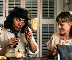 johnny depp, benny and joon, and movie image