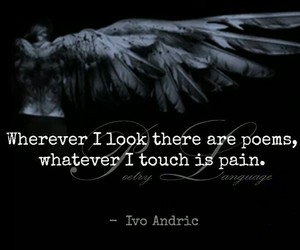 pain, quotes, and poen image