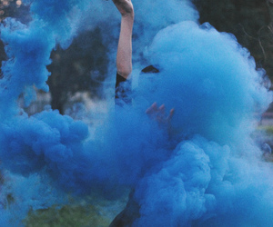 blue, girls, and grunge image