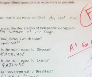 answer, exams, and fun image