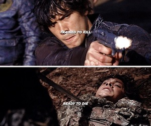 the hundred, the 100, and bellamy blake image
