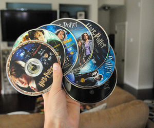 harry potter, dvd, and movie image