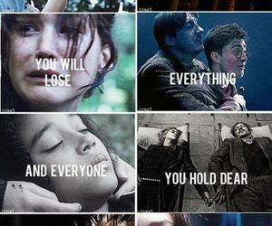 harry potter, hunger games, and the hunger games image