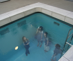 pool, grunge, and pale image