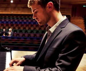 theo james, piano, and theo image