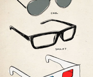 cool, glasses, and real image