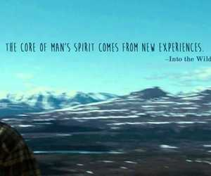 into the wild, life, and quotes image
