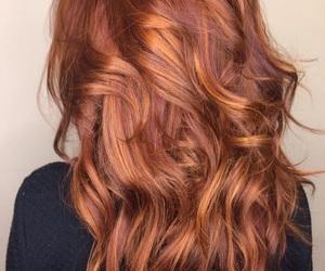 hair, red hair, and hair goals image