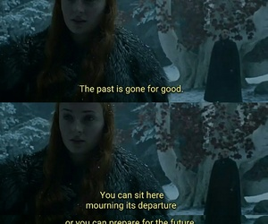 past, got, and game of thrones image
