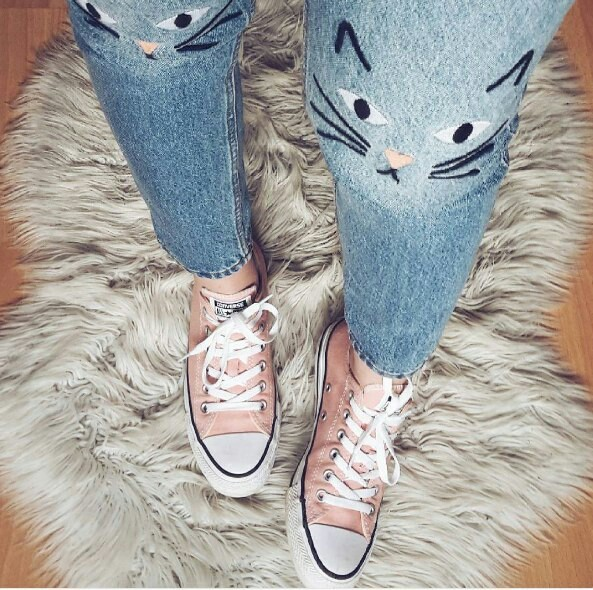 Image about pink in Converse by Lilja on We Heart It