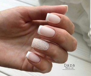beautiful, french, and manicure image